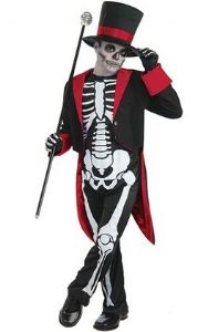 Boys Mr Bone Jangles Costume